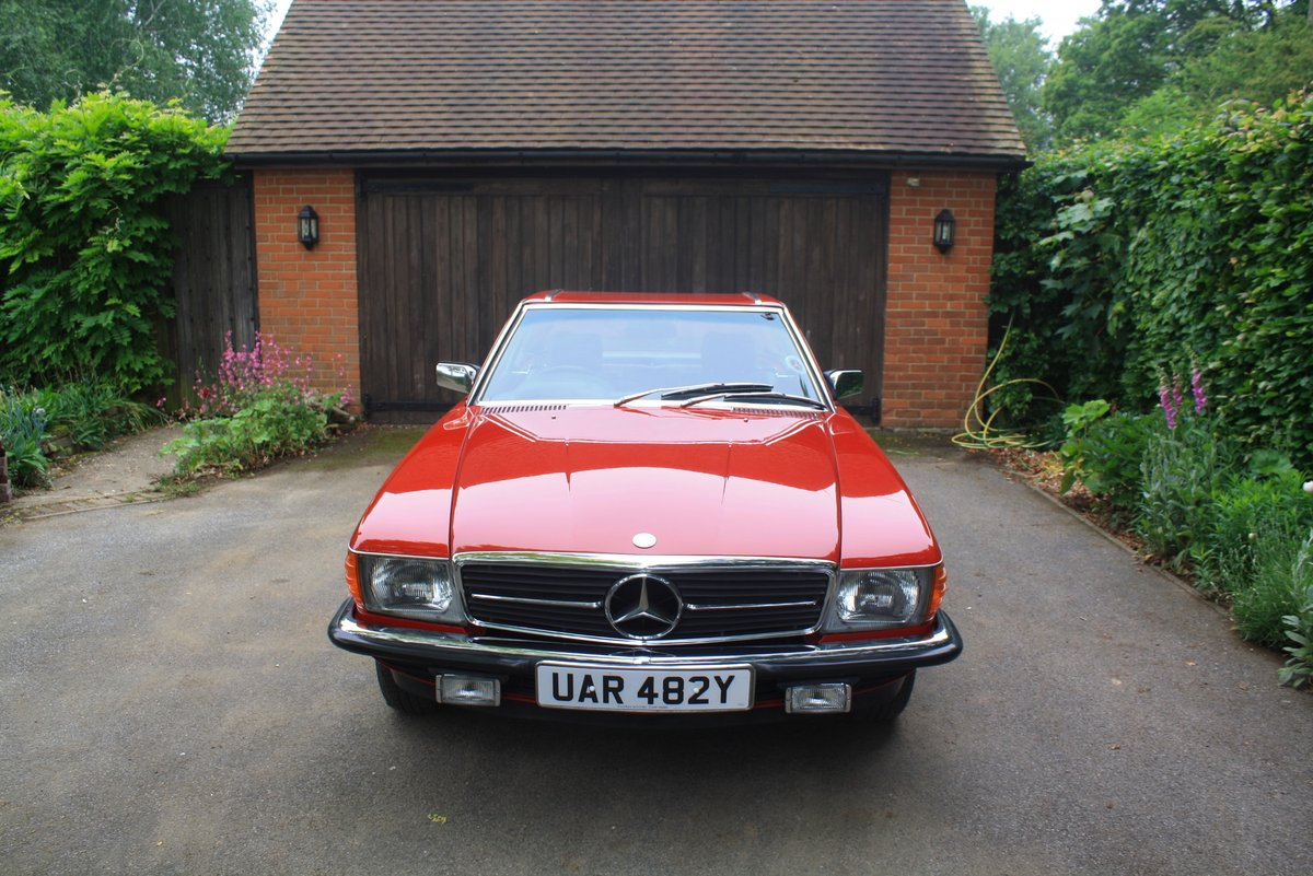 Mercedes 280 SL Auto, 1983. Stunning low mileage example. SOLD (picture 2 of 6)
