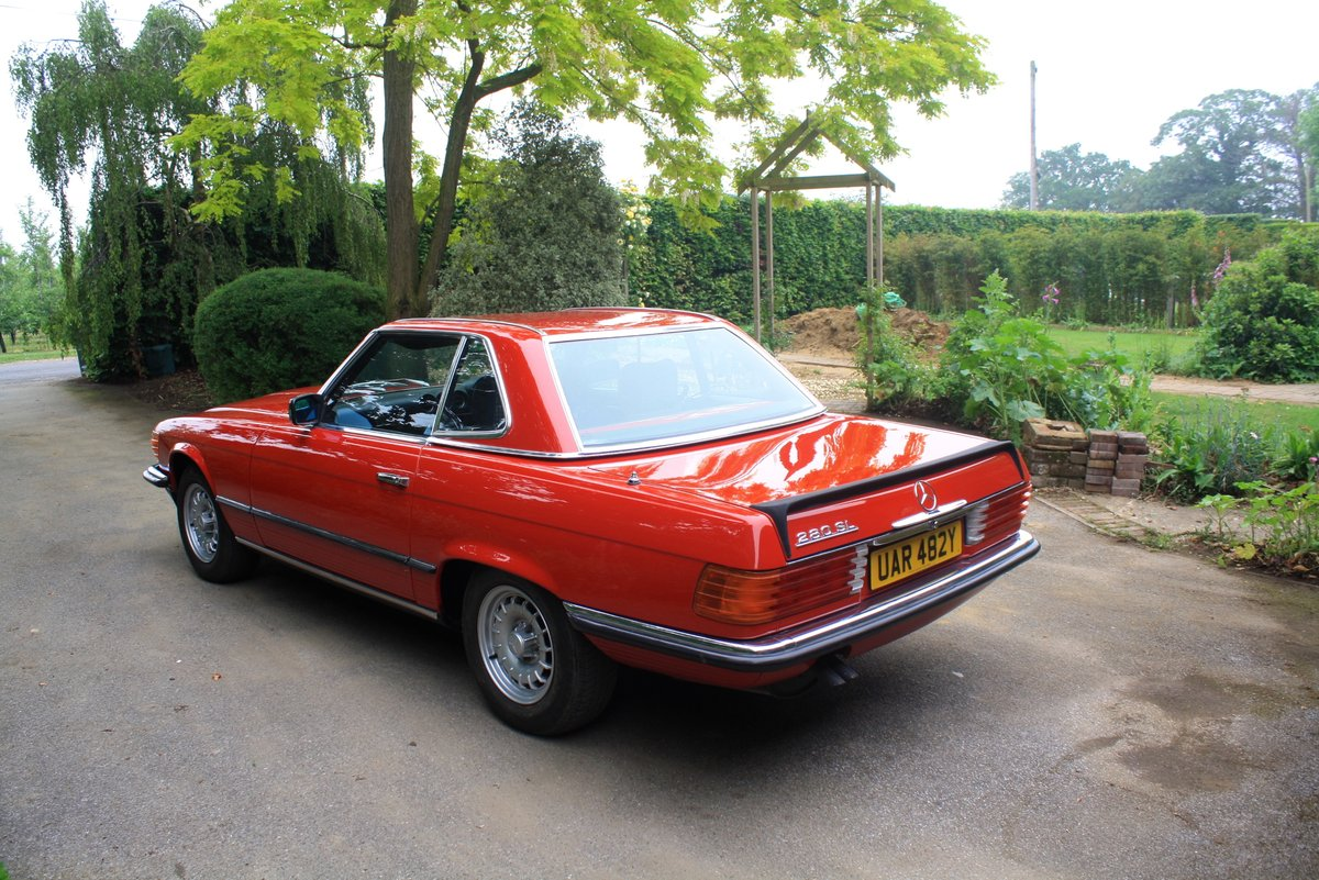Mercedes 280 SL Auto, 1983. Stunning low mileage example. SOLD (picture 3 of 6)