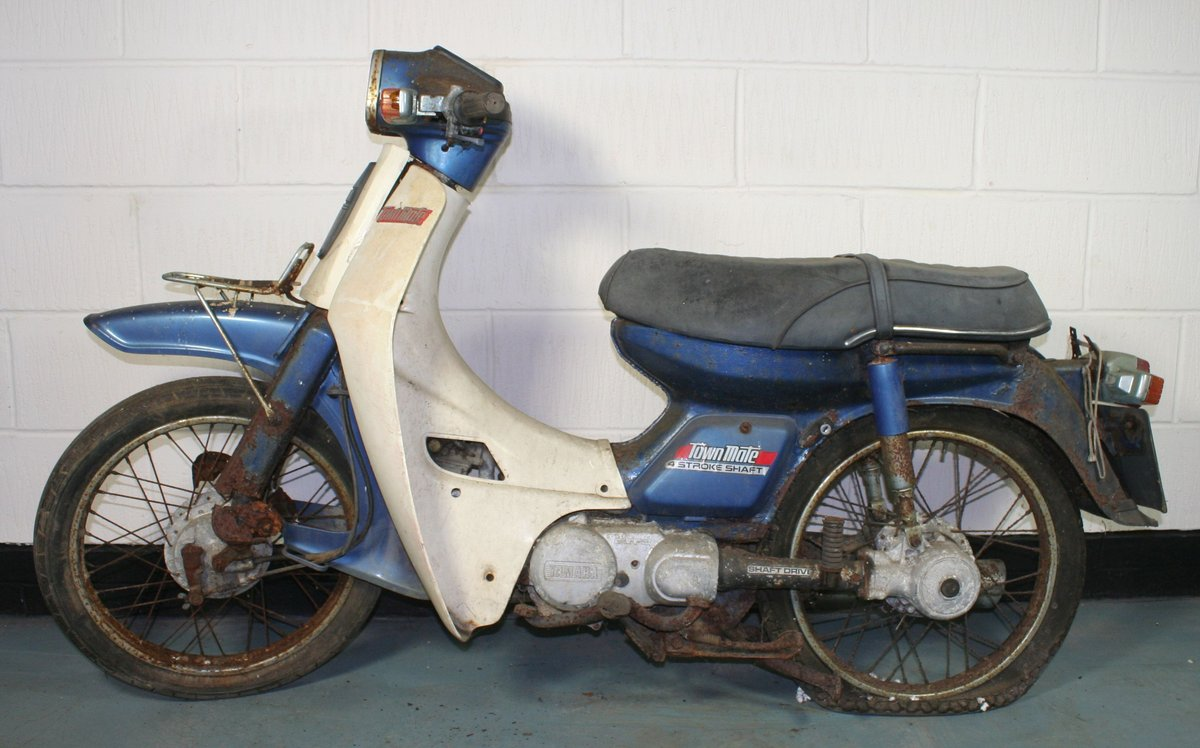 1984 Yamaha Townmate, 79 cc. SOLD by Auction (picture 1 of 6)