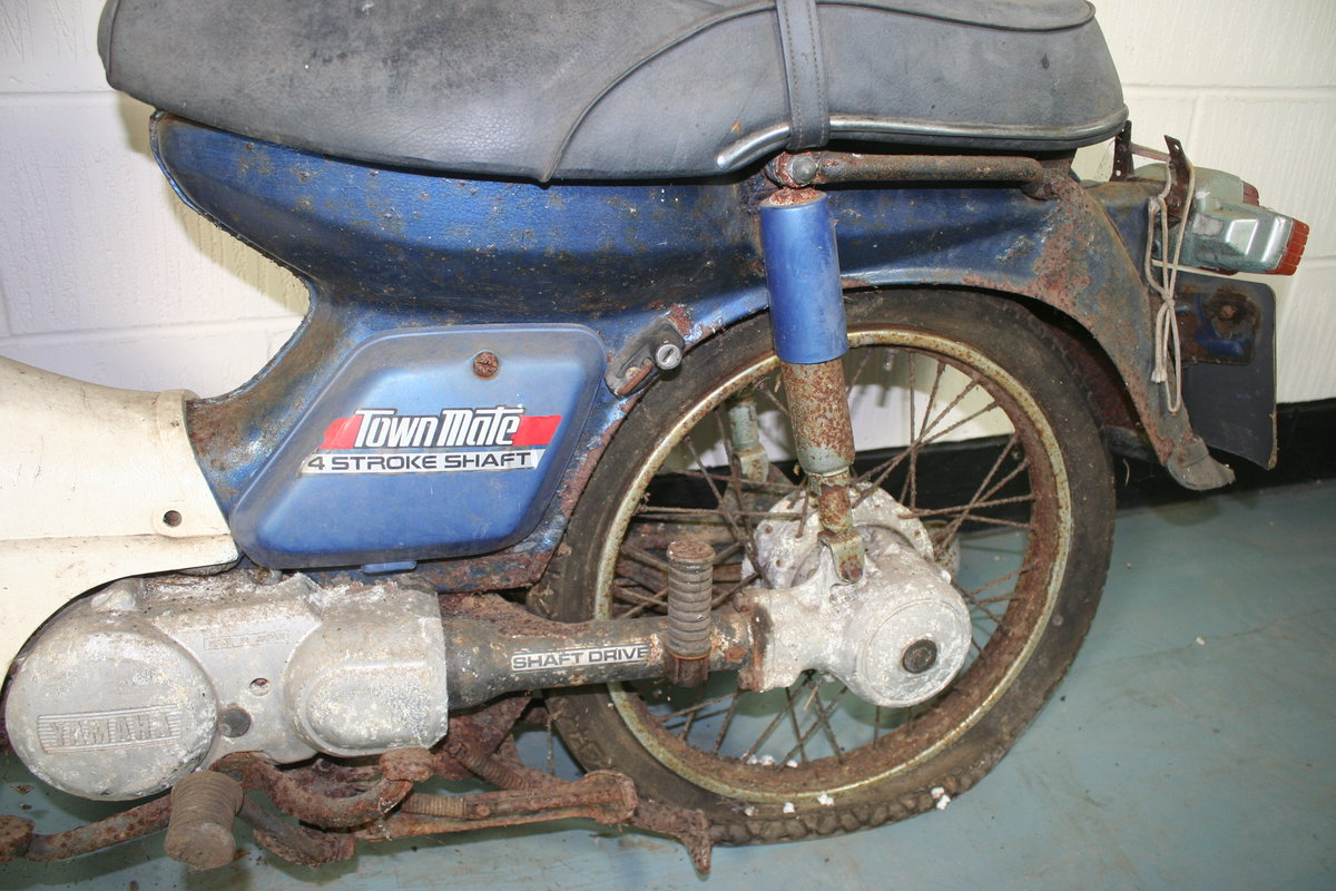 1984 Yamaha Townmate, 79 cc. SOLD by Auction (picture 3 of 6)