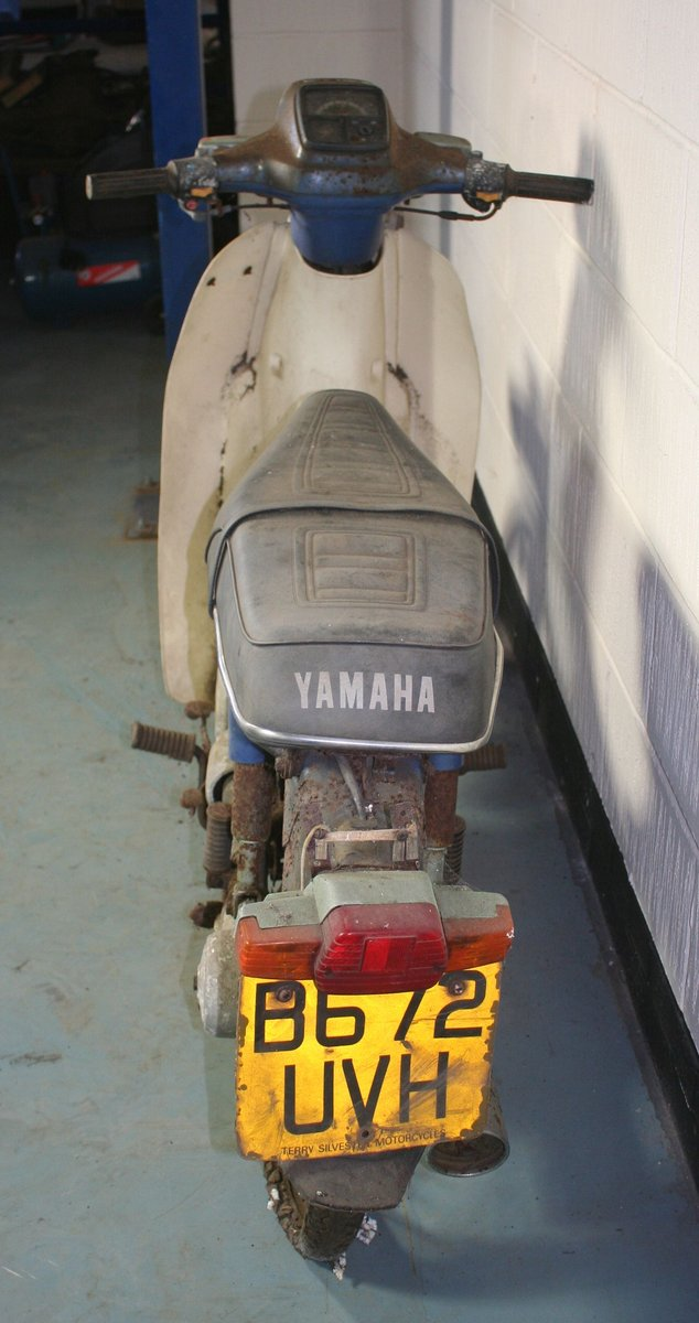 1984 Yamaha Townmate, 79 cc. SOLD by Auction (picture 6 of 6)