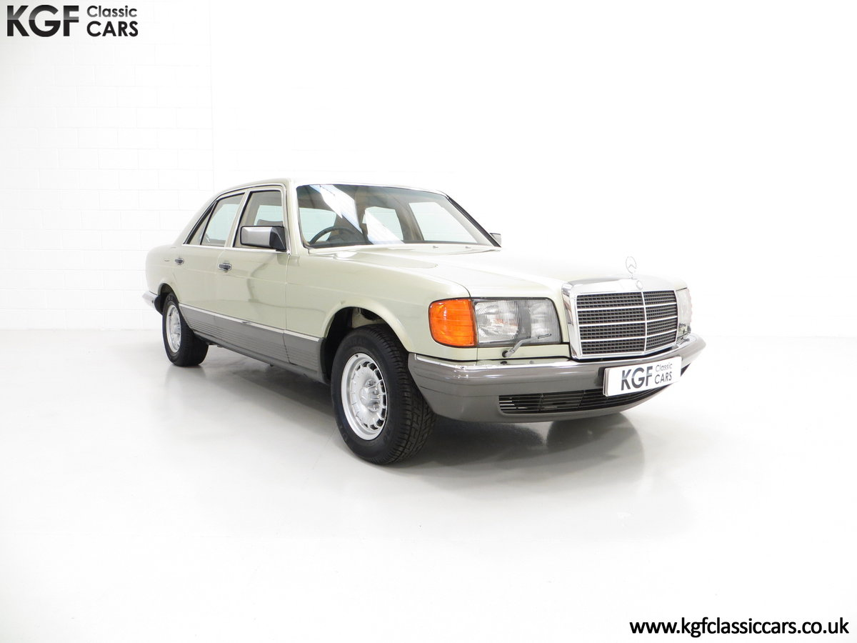1982 Mercedes-Benz W126 380SE, Just 29,513 Miles and Full History For Sale (picture 1 of 6)