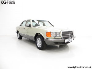 1982 Mercedes-Benz W126 380SE, Just 29,513 Miles and Full History SOLD