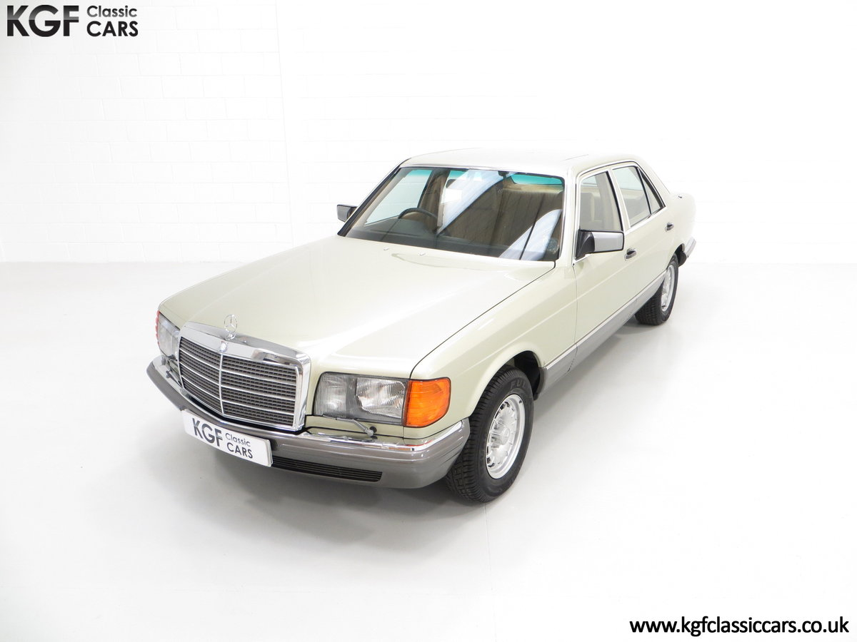 1982 Mercedes-Benz W126 380SE, Just 29,513 Miles and Full History For Sale (picture 2 of 6)