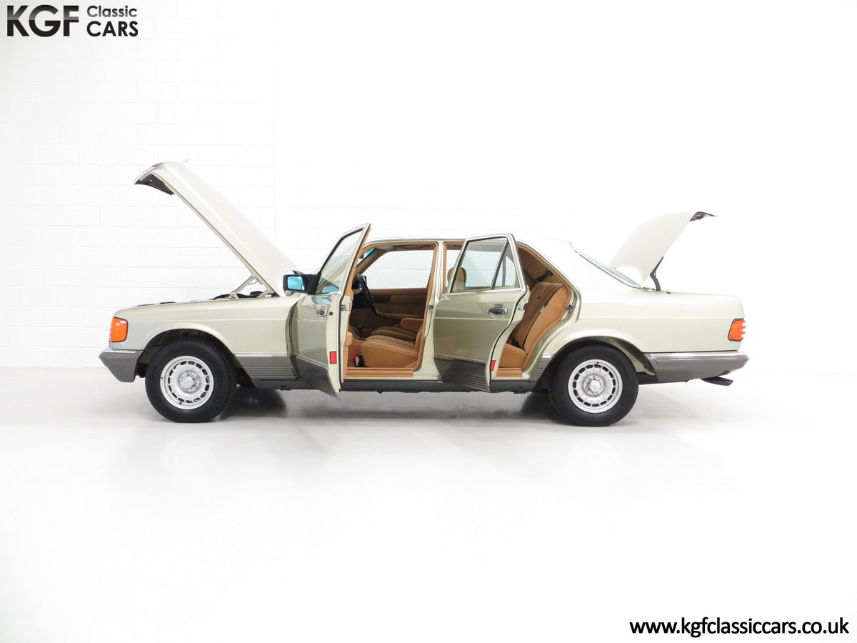 1982 Mercedes-Benz W126 380SE, Just 29,513 Miles and Full History For Sale (picture 3 of 6)