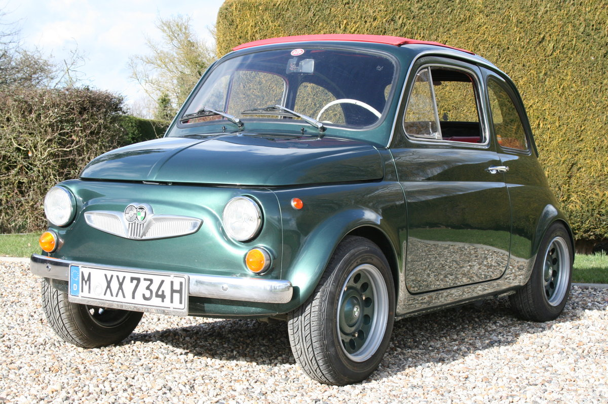 1973 Steyr Puch 500 S.Fiat Superb Condition Throughout.Very Rare For Sale (picture 1 of 6)
