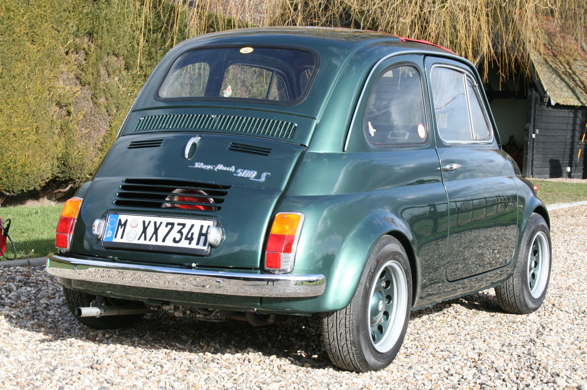 1973 Steyr Puch 500 S.Fiat Superb Condition Throughout.Very Rare For Sale (picture 2 of 6)
