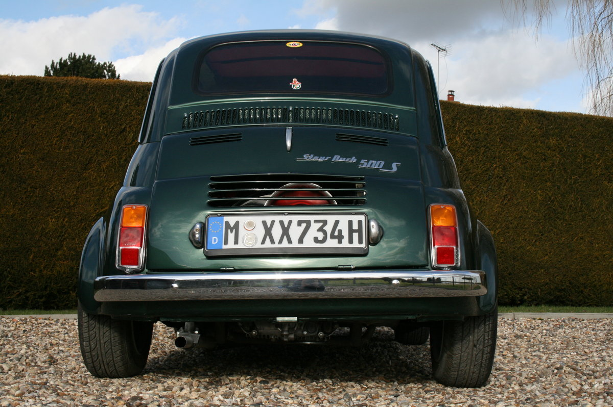 1973 Steyr Puch 500 S.Fiat Superb Condition Throughout.Very Rare For Sale (picture 5 of 6)
