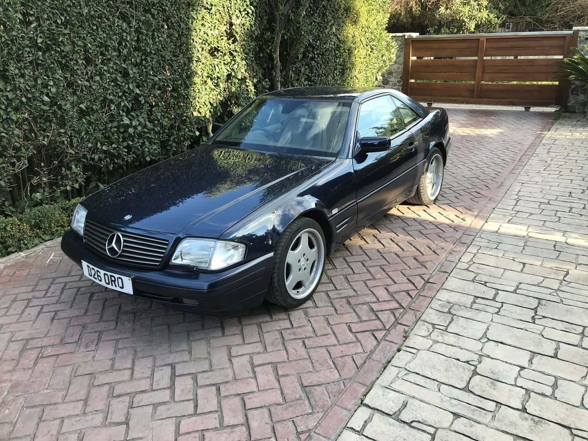 Mercedes sl 320 amg facelift 1996 For Sale (picture 3 of 6)