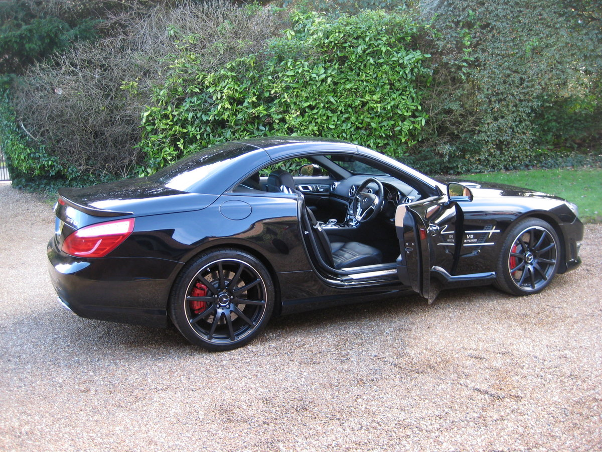 2012 Mercedes Benz SL63 AMG With Over £12k Of Optional Extras For Sale (picture 6 of 6)