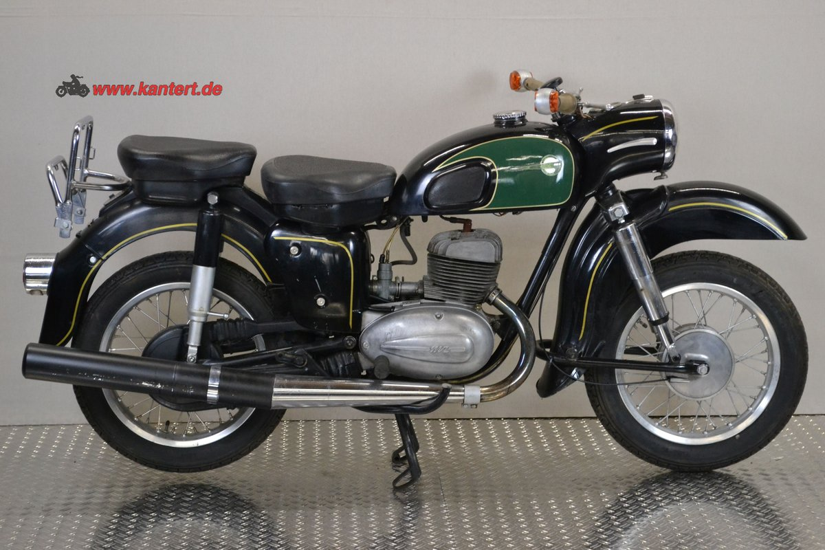 1965 MZ ES 175/1, 12 hp, 172 cc, 29000 km For Sale (picture 1 of 6)