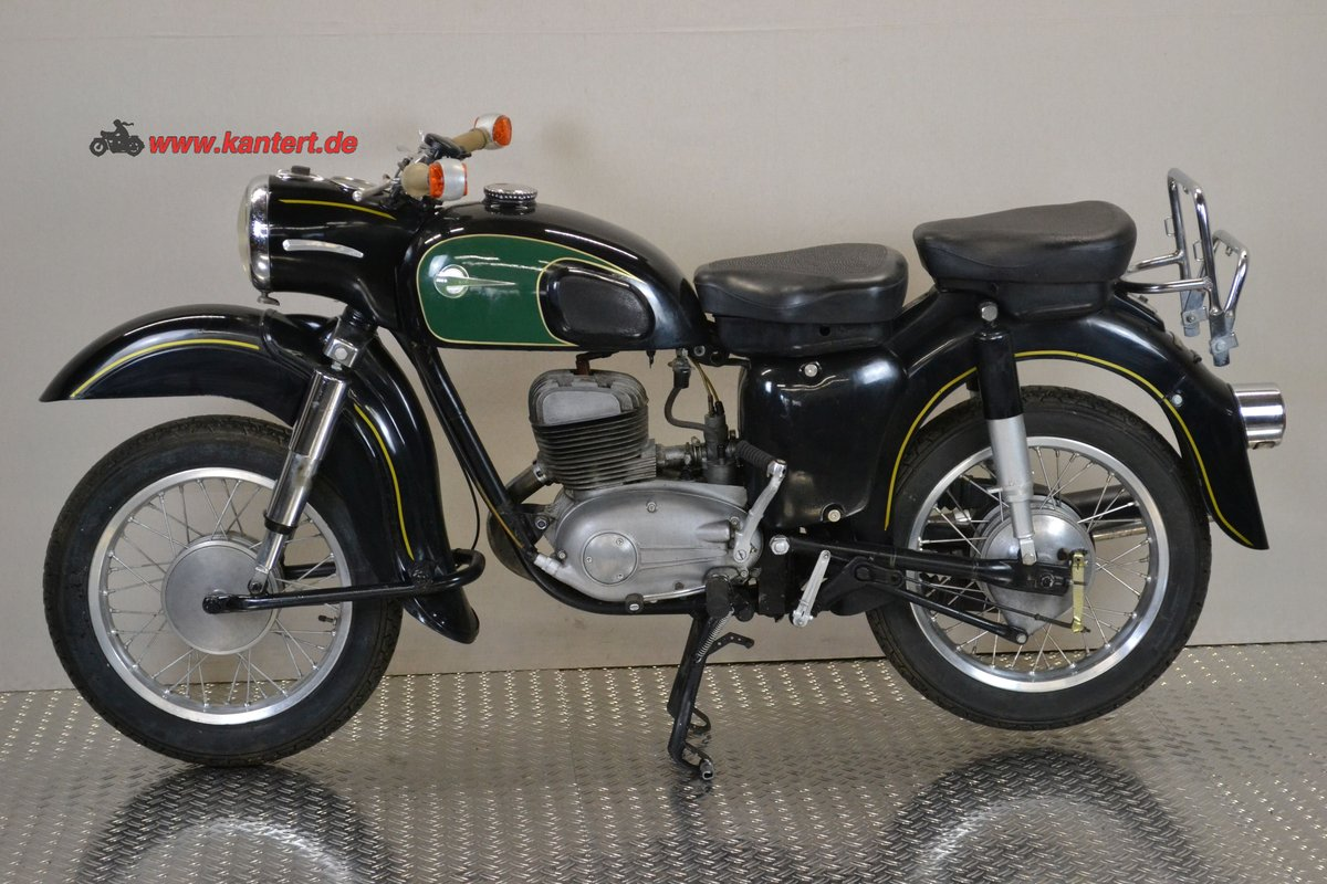 1965 MZ ES 175/1, 12 hp, 172 cc, 29000 km For Sale (picture 2 of 6)