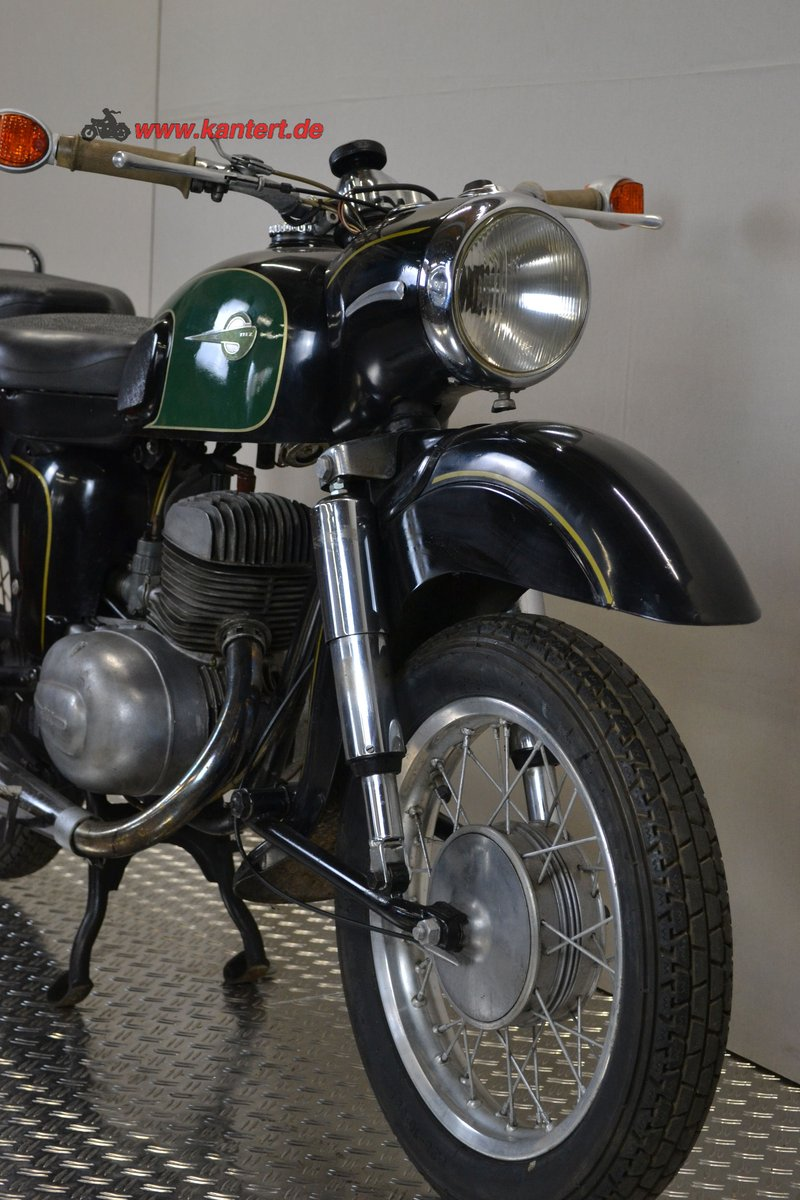 1965 MZ ES 175/1, 12 hp, 172 cc, 29000 km For Sale (picture 3 of 6)