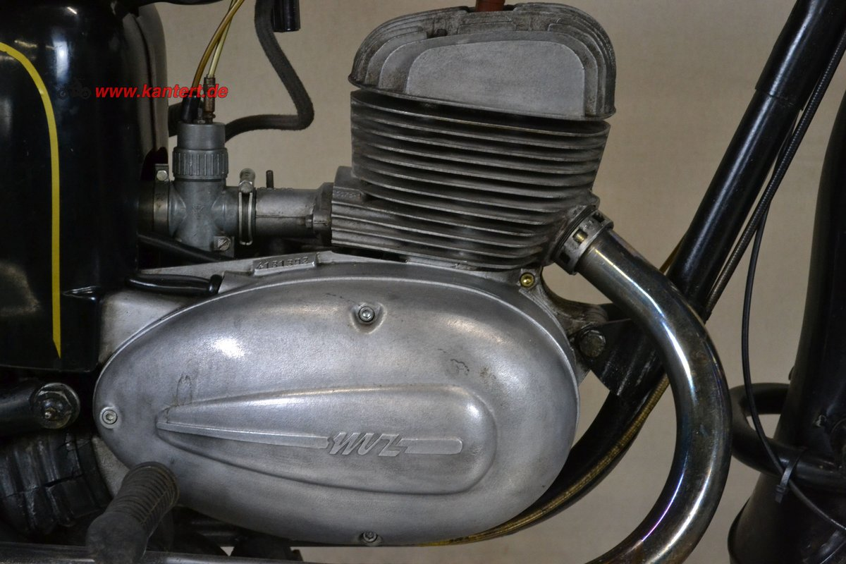 1965 MZ ES 175/1, 12 hp, 172 cc, 29000 km For Sale (picture 5 of 6)