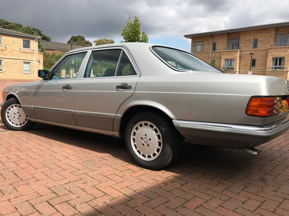 1982 Mercedes w126 For Sale (picture 4 of 6)