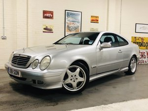 2001 MERCEDES BENZ CLK 55 AMG COUPE - PROJECT  SOLD