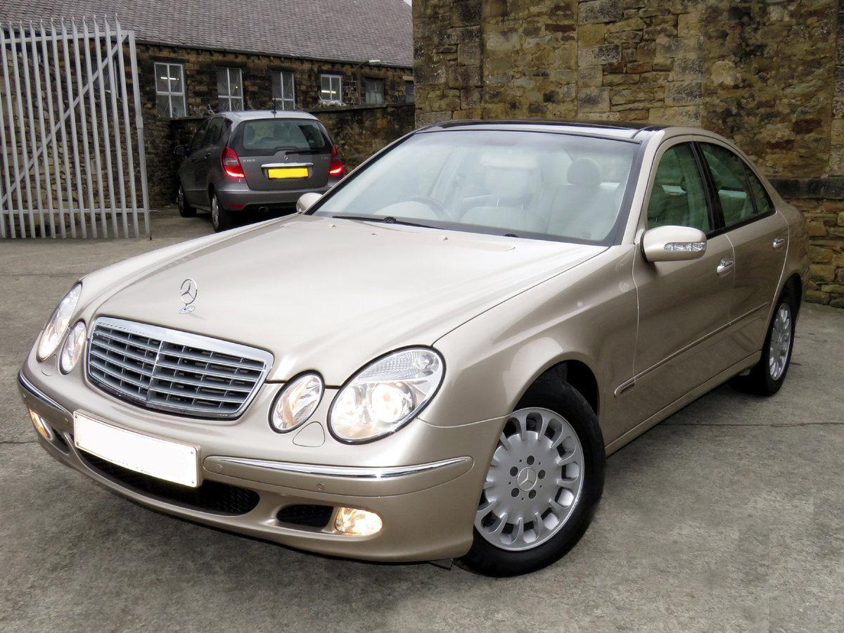 2002 Mercedes W211 E320 V6 Elegance Auto - 62K- FMBSH  - Hi Spec SOLD (picture 1 of 6)