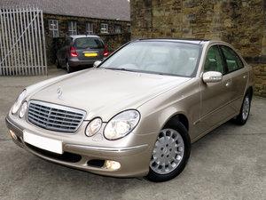 2002 Mercedes W211 E320 V6 Elegance Auto - 62K- FMBSH  - Hi Spec SOLD