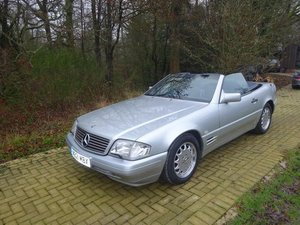 1996 Mercedes SL500 - Just 25,305 miles from new. For Sale