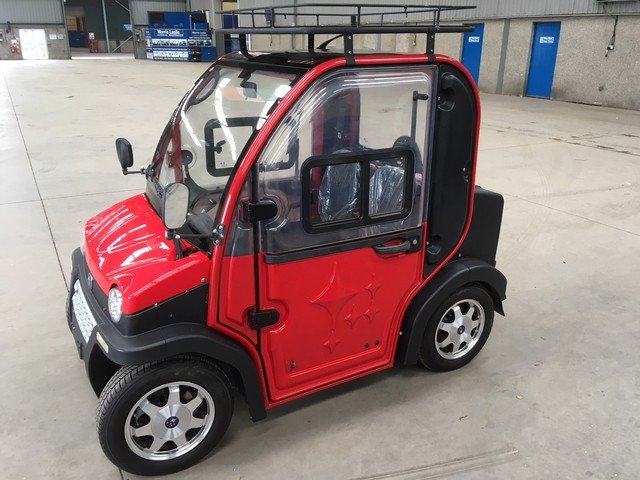 2015 ZAP Jonway Urbee Electric Car at Morris Leslie Auction SOLD by Auction (picture 2 of 6)