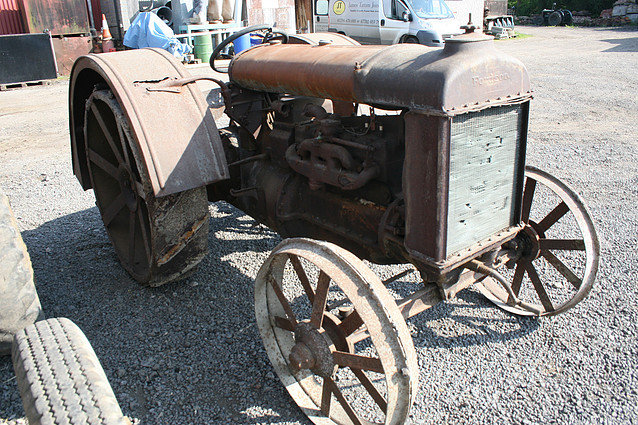 1923 Fordson Irish Model F Longwing Tractor For Sale (picture 1 of 1)