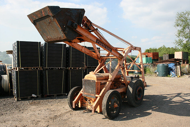 Fordson N Chaseside Loading Shovel For Sale (picture 1 of 1)