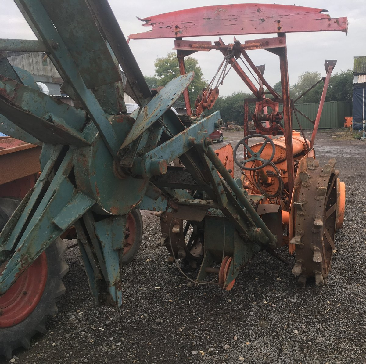 Fordson Trencher For Sale (picture 2 of 2)