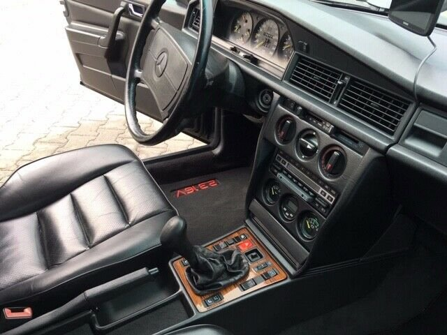 1987 mercedes benz 190E2.3 16V, a famous book writer is 2.owner SOLD (picture 2 of 6)