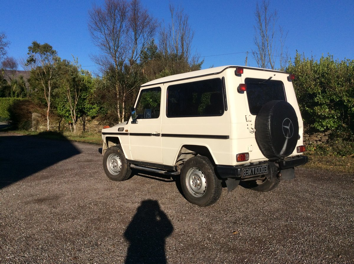 1983 Mercedes GWagon 300 GD. LHD For Sale (picture 1 of 6)