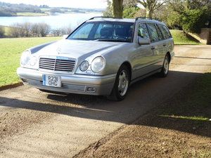 1998 Mercedes W210 E320 Estate 7 Seater LHD 60k NO CORROSION For Sale