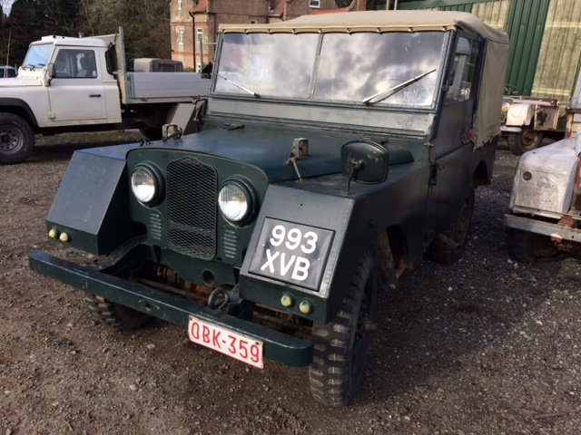 1953 Minerva Jeep - Based on Land Rover Series 1 80 inch For Sale (picture 1 of 5)
