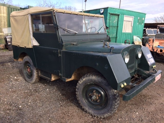 1953 Minerva Jeep - Based on Land Rover Series 1 80 inch For Sale (picture 2 of 5)