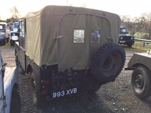 1953 Minerva Jeep - Based on Land Rover Series 1 80 inch For Sale (picture 3 of 5)