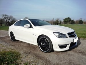 2014 Mercedes C63 AMG Coupe For Sale
