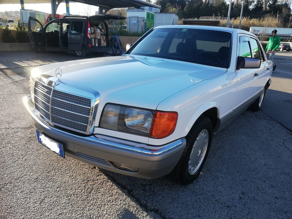 1986 Mercedes Benz 300 Se w126 For Sale (picture 1 of 6)