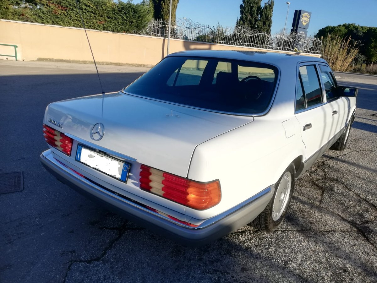 1986 Mercedes Benz 300 Se w126 For Sale (picture 2 of 6)