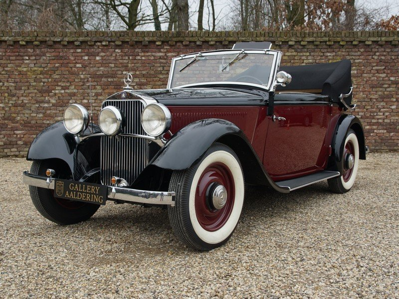 1933 Mercedes Benz W21 200 'Kurz' Convertible only 400 km since c For Sale (picture 1 of 6)