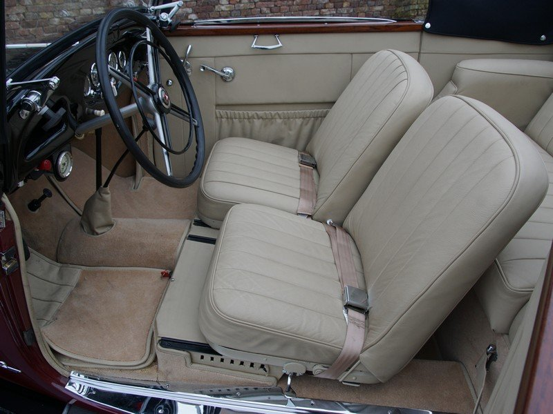 1933 Mercedes Benz W21 200 'Kurz' Convertible only 400 km since c For Sale (picture 3 of 6)