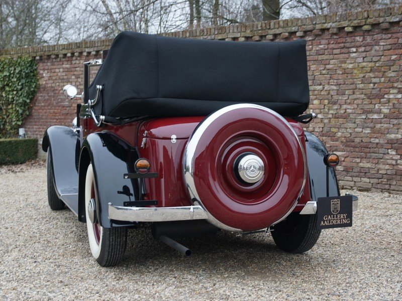 1933 Mercedes Benz W21 200 'Kurz' Convertible only 400 km since c For Sale (picture 6 of 6)