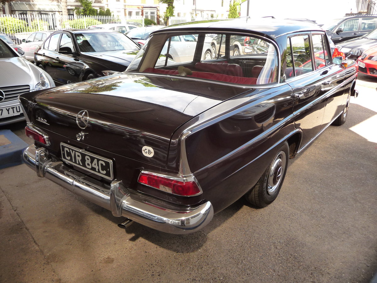 1965 MERCEDES 190 FINTAIL GENUINE 34,000 MILES  For Sale (picture 2 of 6)