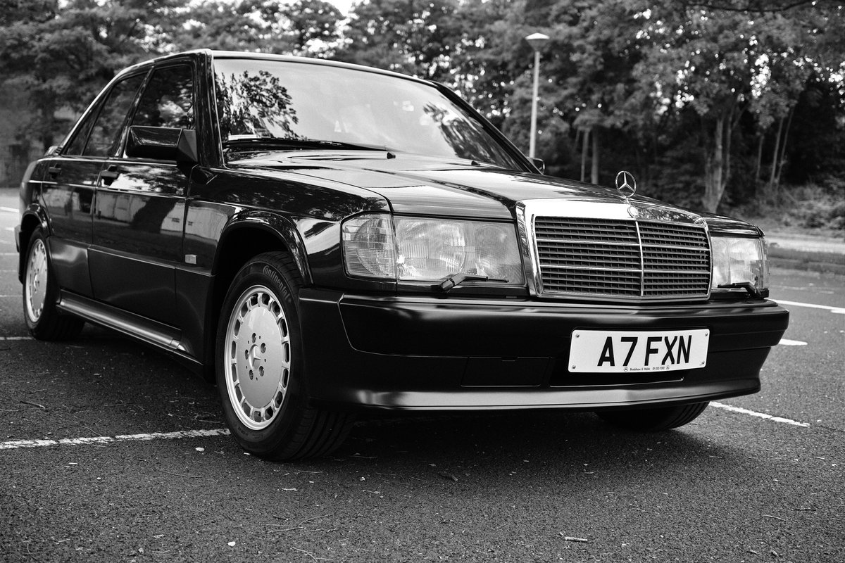 1990 Mercedes 190E 2.5-16 Stunning One Off Example SOLD (picture 1 of 6)