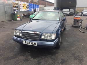 1994 C124 E320 Coupe only 100 left in UK