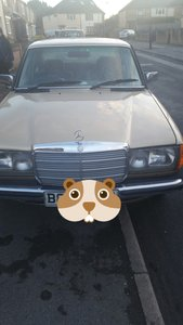 1985 45000 low milage 230e classic mercedes
