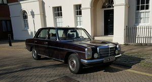 Mercedes Benz 200D w115 1975 LHD Spanish Imported