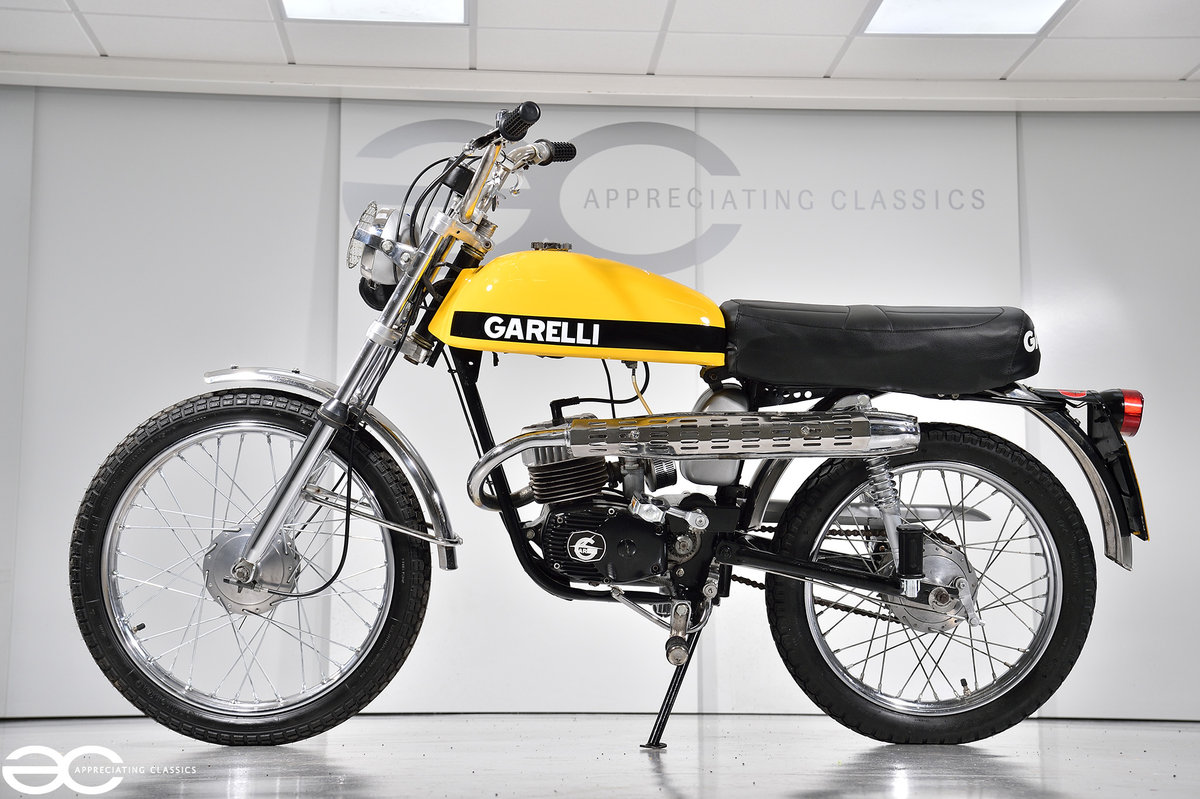 1975 Beautiful Mk2 Garelli Junior Tiger Cross - Restored. For Sale (picture 1 of 6)