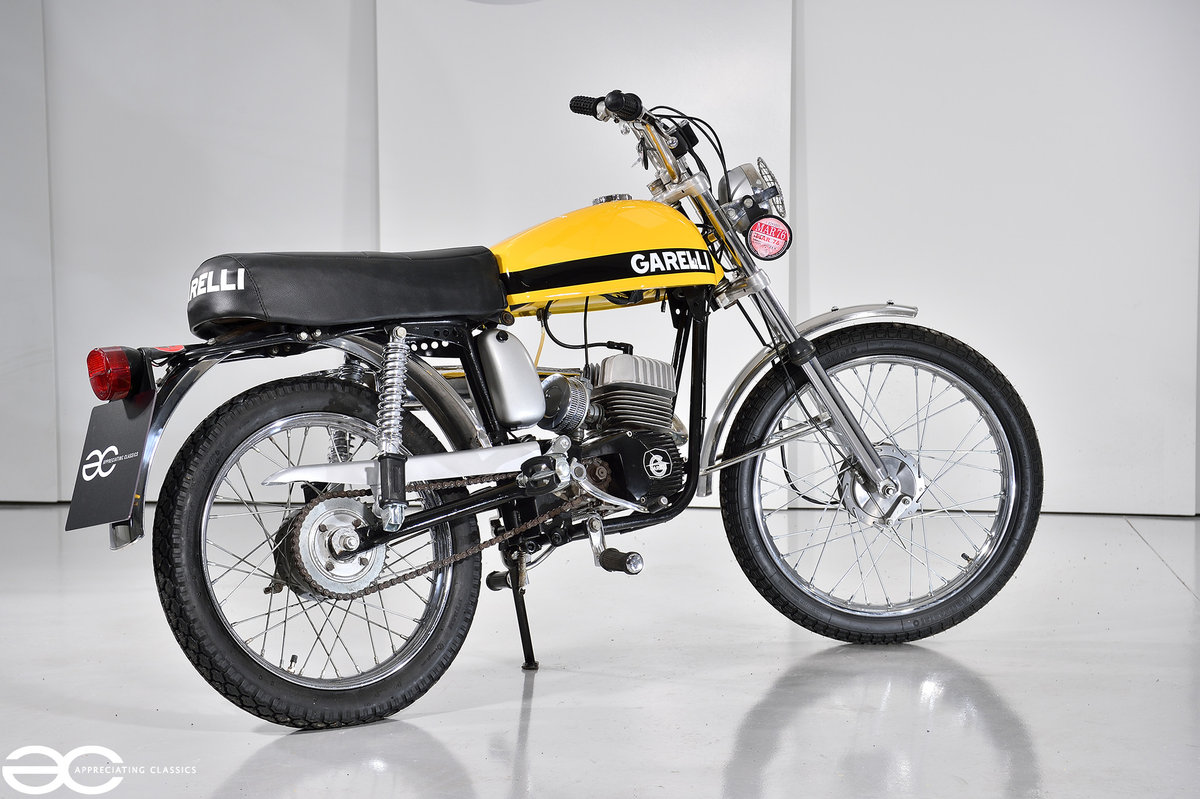 1975 Beautiful Mk2 Garelli Junior Tiger Cross - Restored. For Sale (picture 2 of 6)
