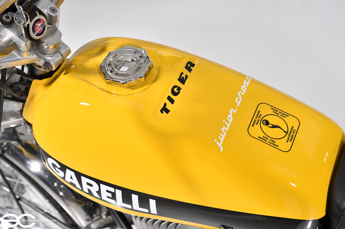 1975 Beautiful Mk2 Garelli Junior Tiger Cross - Restored. For Sale (picture 4 of 6)