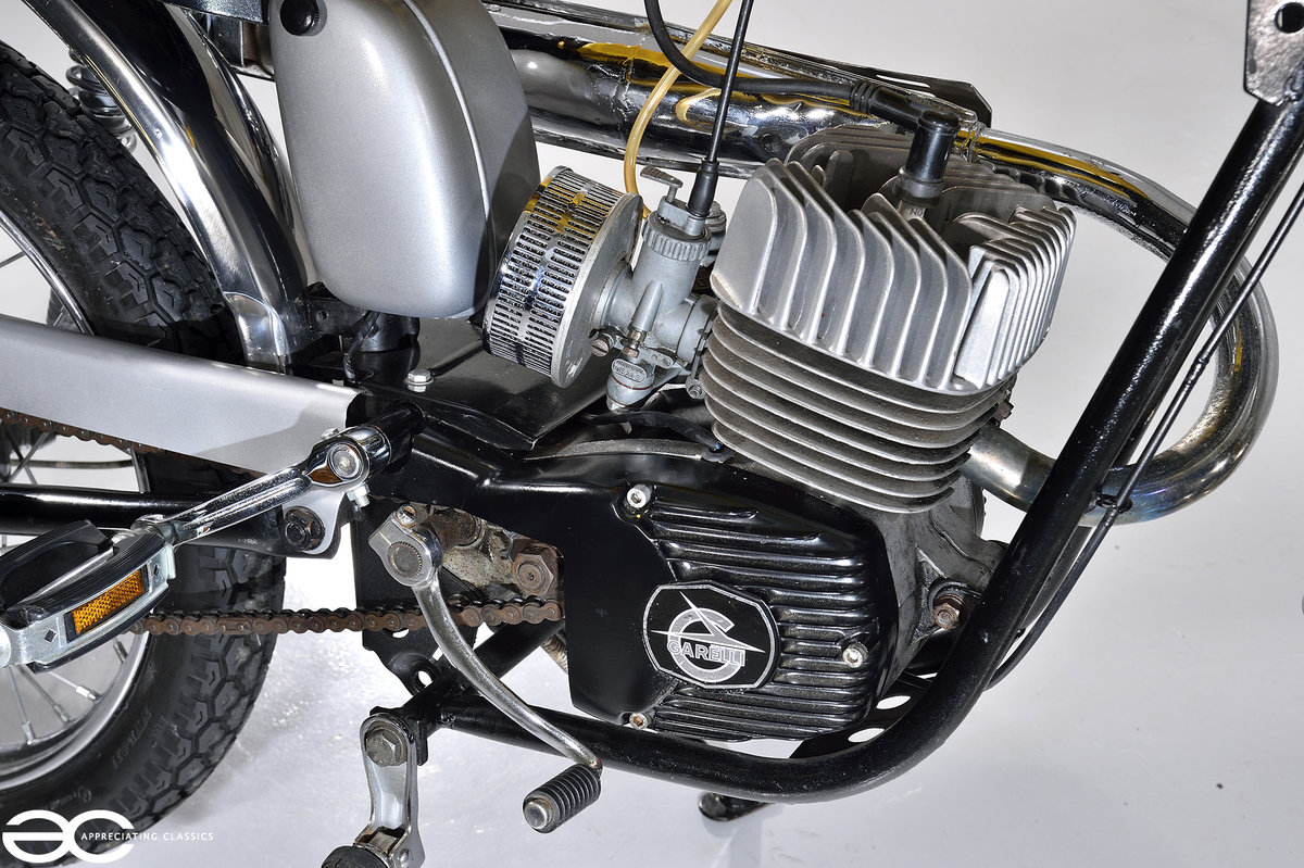 1975 Beautiful Mk2 Garelli Junior Tiger Cross - Restored. For Sale (picture 6 of 6)