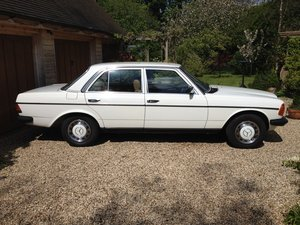 1983 Fabulous Merc 230E (W123)  For Sale