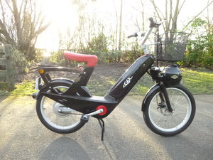 2007 E solex electric moped as new.  SOLD